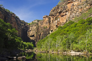 Cliffs near Jim-Jim Falls in Kakadu National Park, Australia
