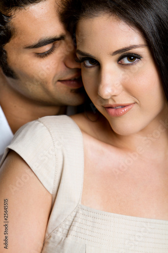 Young ethnic couple