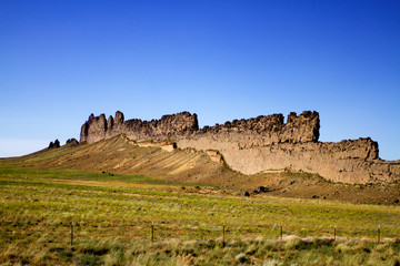 Shiprock area in New Mexico