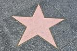 Fototapety Stern am Hollywood walk of fame
