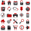 web Red Icons
