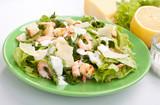 Fototapety caesar salad with shrimp
