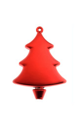red tree christmas decoration- decorazione albero rosso