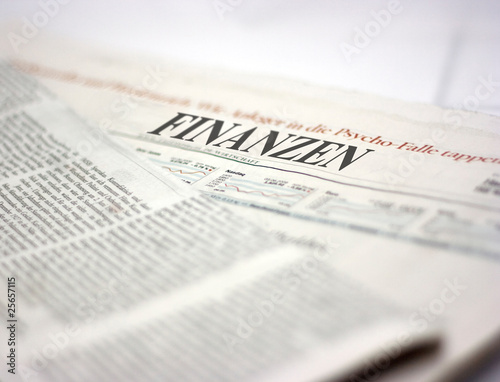Tuinposter Kranten german newspaper finanzen