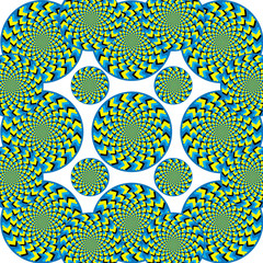Spin Universe  (motion illusion)
