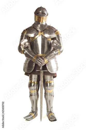 Leinwandbild Motiv Suit of Armour