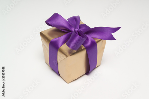 Gift-wrapped present