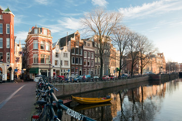 Amsterdam canals view