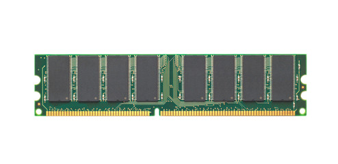 computer memory module. isolated white background