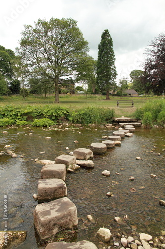 Yorkshire stepping stones
