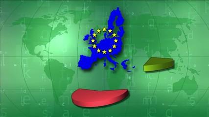 Video motion background: EU statistics