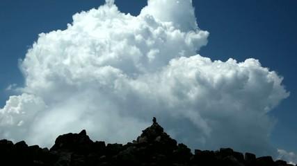 ケルンと入道雲