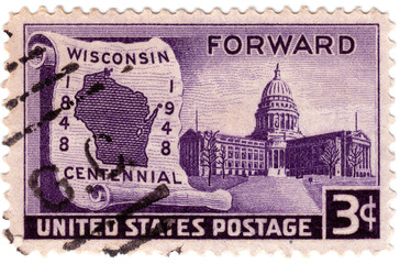 USA  Wisconsin Centenary
