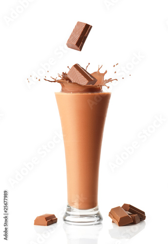 Chocolate Milkshake Smoothie