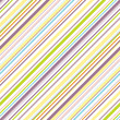 Bright bias pinstripe pattern
