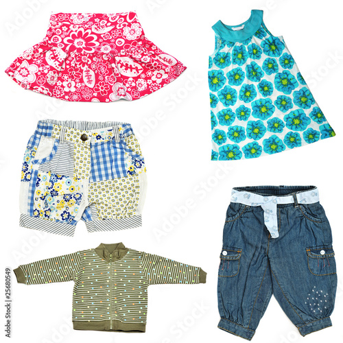 baby girl's clothes