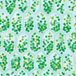 Chlorophyll Cells seamless pattern