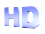 HD hight definition poster