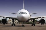 Fototapety avion vue de face