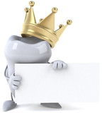 Fototapety Dent et couronne
