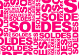 Fototapety Soldes - Mots en rose