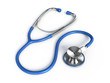 Stethoscope on a white background