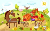 Fototapety harvest card