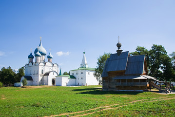 Suzdal in summer. Russia
