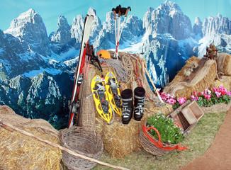 Sci, alpinismo, Alpi ed escursioni