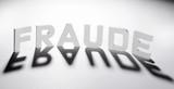 concept mot fraude ombre et lumière poster