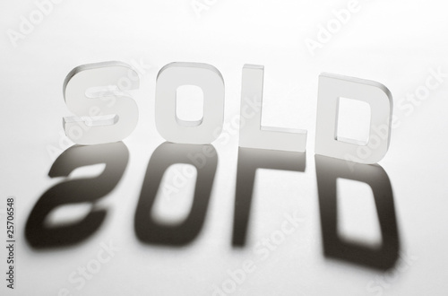concept mot sold ombre et lumière
