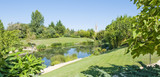 Monets Garden and Lily Pond,Giverny France poster