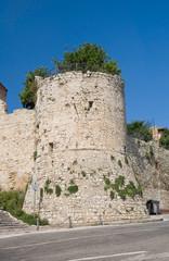 Ancient walls. Castiglione del Lago. Umbria.