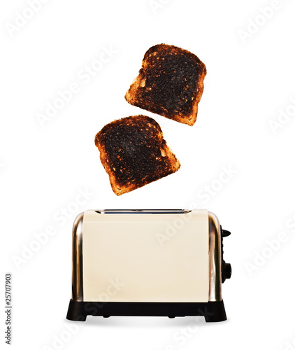 Popped toast