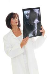 Untersuchung des Röntgenbildes