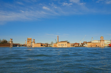 Arsenale located at Venice, Italy
