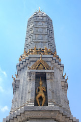 Temple Under A Blue Sky in Bangkok