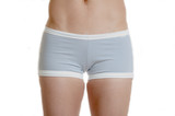 Grey workout shorts bottom poster