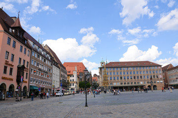 Hauptmarkt - Nürnberg/Nuremberg, Germany