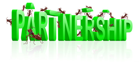 partnership alliance building association business cooperation