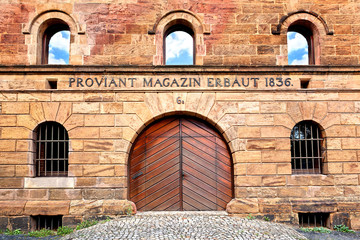 Proviant-Magazin in Minden, Deutschland