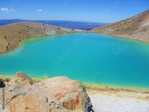 New Zealand - volcanic emerald lake