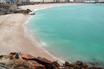 Playa Matadero y Orzan, coruña