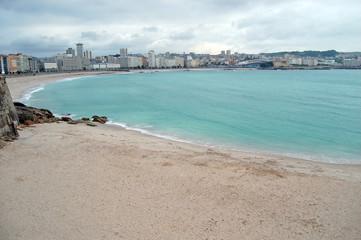 Playa del Matadero y Orzan, coruña
