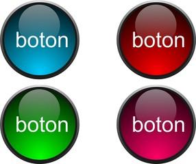 Botones web 2.0 menu