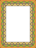 Decorative framework, openwork frame