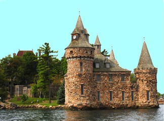 Castle, thousand islands, usa
