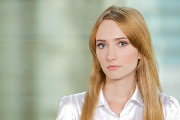Portrait of businesswoman at office