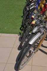 Bicycles row