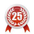 25 Jahre - Lorbeerkranz